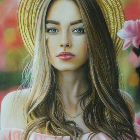 سفارش نقاشی با پاستل
