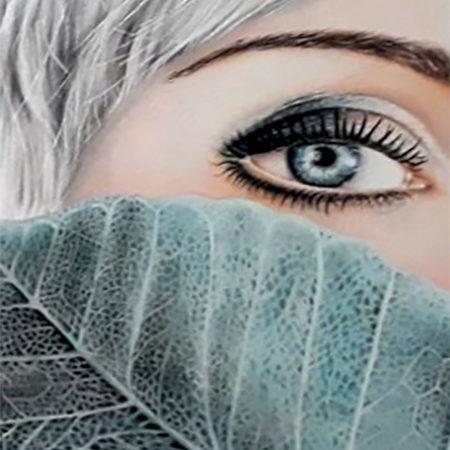 سفارش طراحی چهره با مداد رنگی