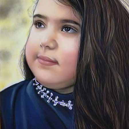 سفارش نقاشی پاستل