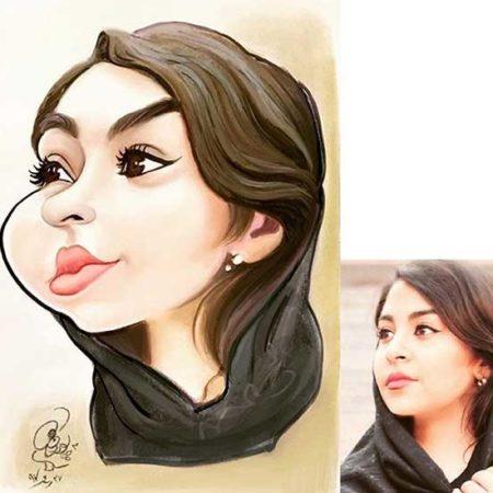 طراحی دیجیتال کاریکاتور