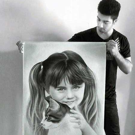 سفارش نقاشی چهره